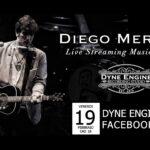 Diego Mercuri, Concerto Live Streaming
