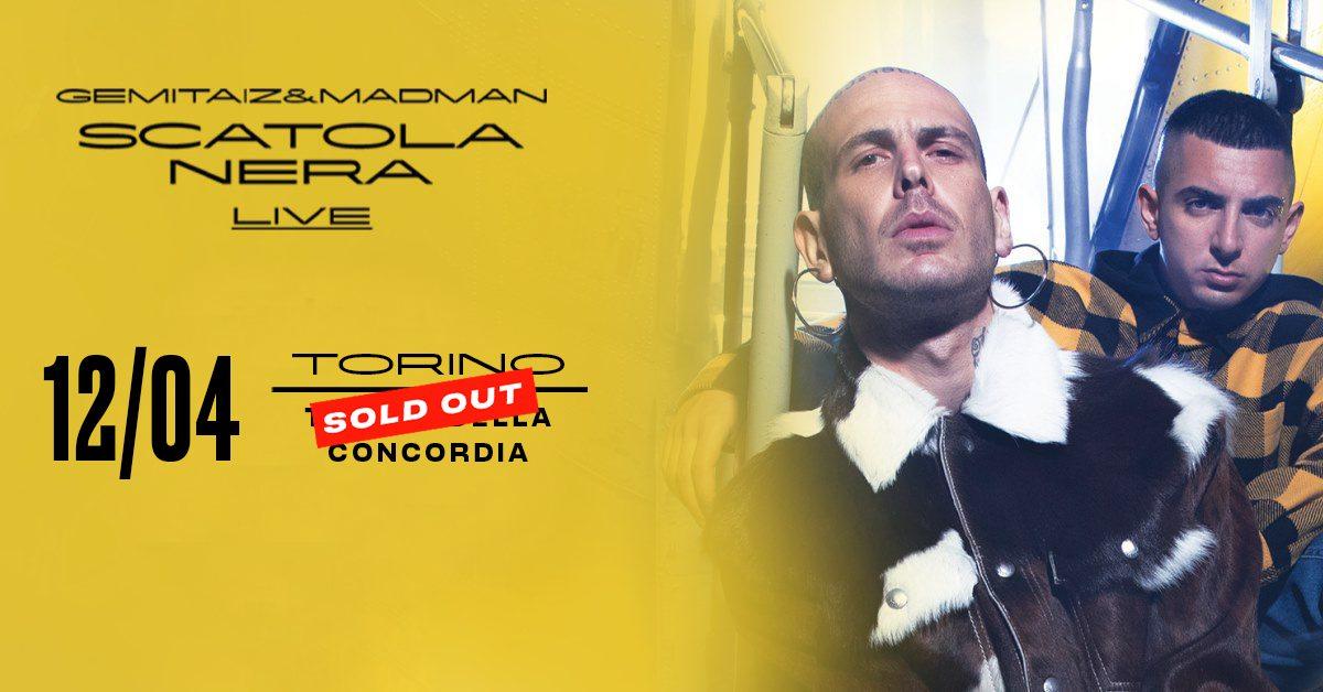 Gemitaiz & MadMan, Teatro Concordia Venaria Reale - Torino