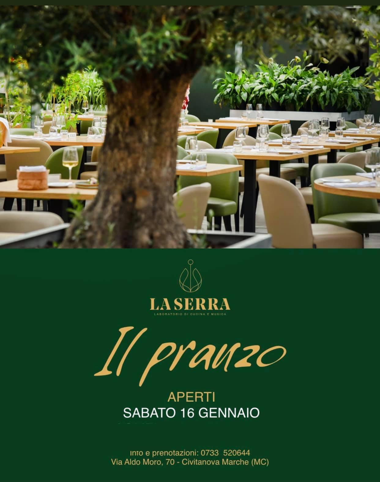 La Serra ristorante di Civitanova Marche, ultimo pranzo