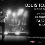 Louis Tomlinson in concerto al Fabrique di Milano