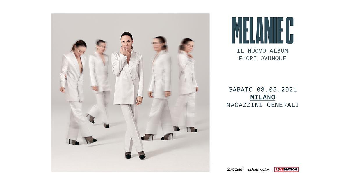 Melanie C in concerto ai Magazzini Generali di Milano