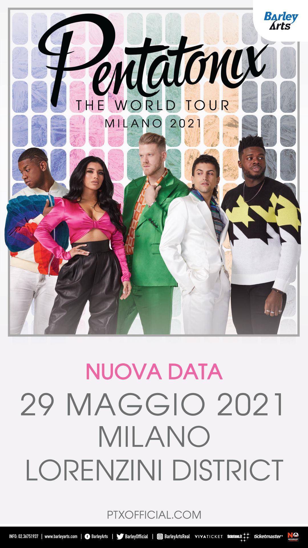 Pentatonix: The World Tour, Lorenzini District Milano