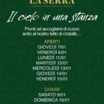 Il secondo pranzo del 2021 al Ristorante La Serra di Civitanova Marche