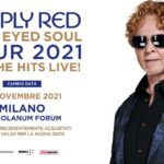 Simply Red live, Blue Eyed Soul Tour 2021, Mediolanum Forum Assago - Milano