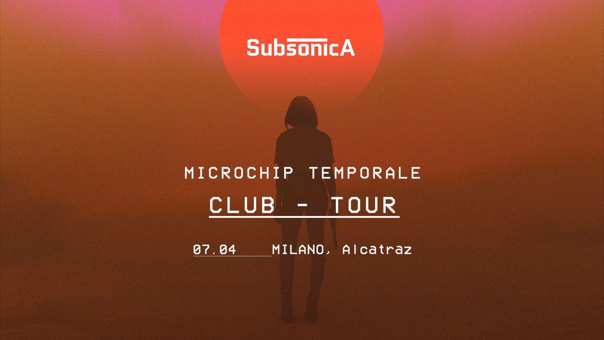 Subsonica, Microchip Temporale seconda data all'Alcatraz di Milano