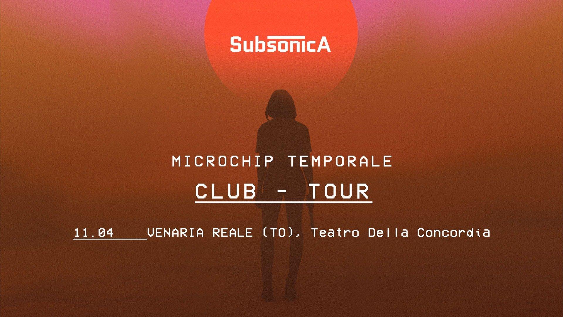 Subsonica, Microchip Temporale, Teatro Concordia Venaria Reale - Torino