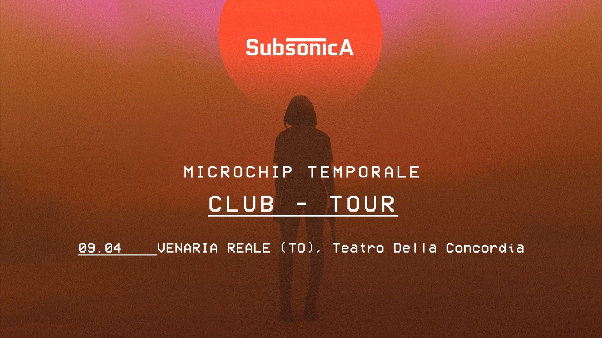 Teatro Concordia Venaria Reale, Subsonica - Microchip Temporale