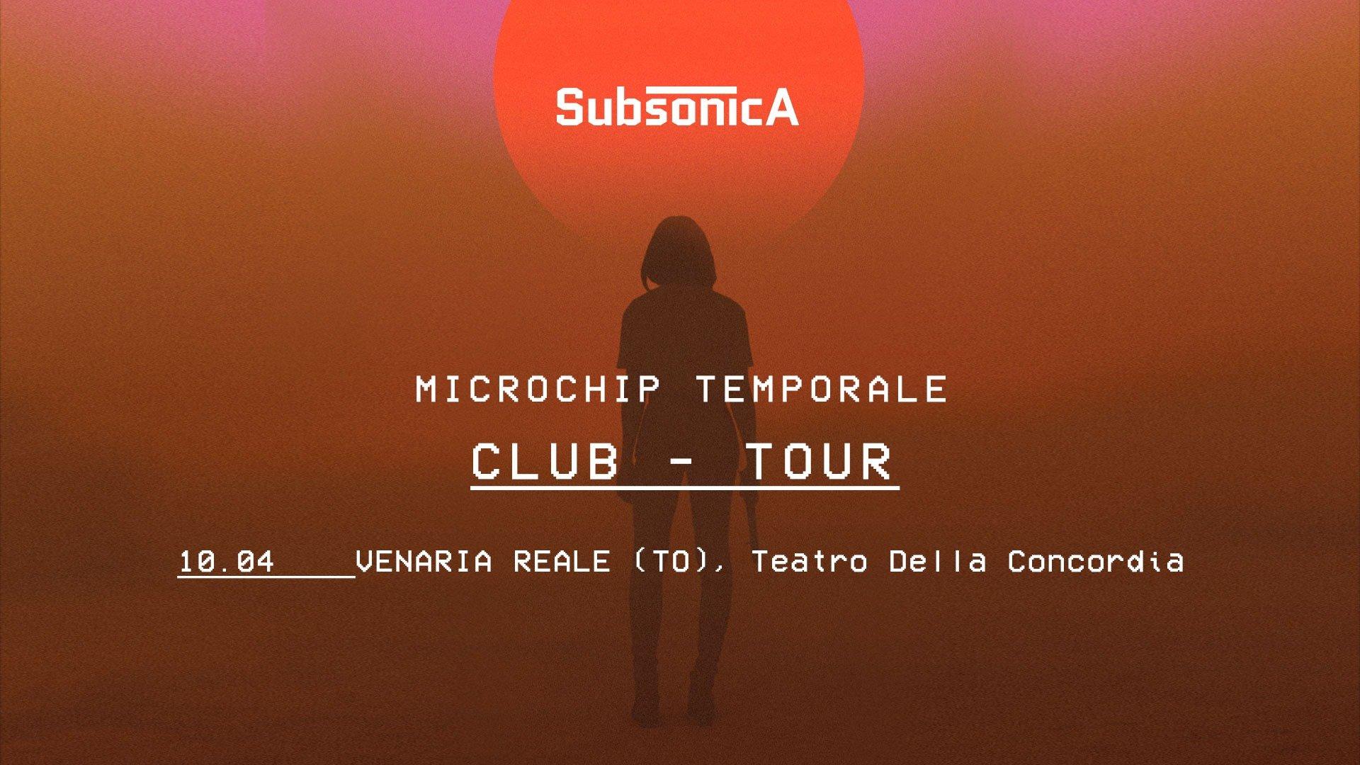 Teatro Concordia Venaria Reale - Torino, Subsonica, Microchip Temporale secondo concerto