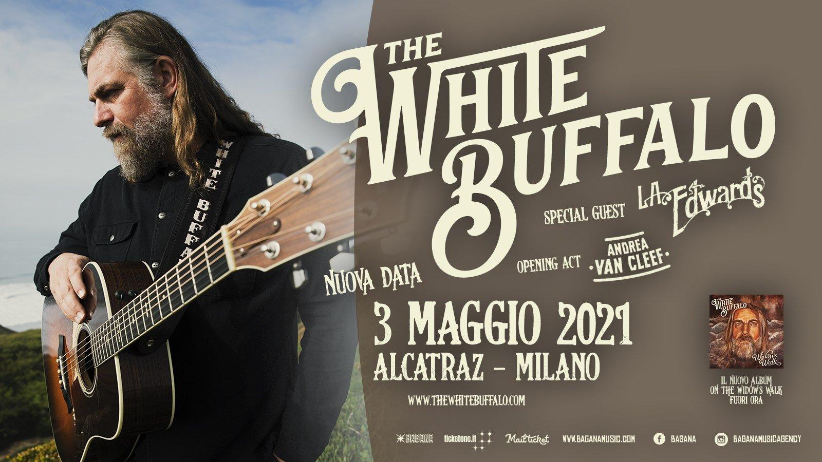 The White Buffalo Live, Alcatraz Milano