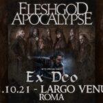 Fleshgod Apocalypse + Ex Deo live, Largo Venue di Roma