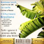 Il pranzo brasiliano del ristorante Madeirinho di Civitanova