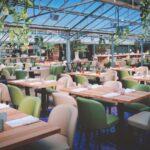 Il pranzo in giallo alla Serra ristorante di Civitanova Marche