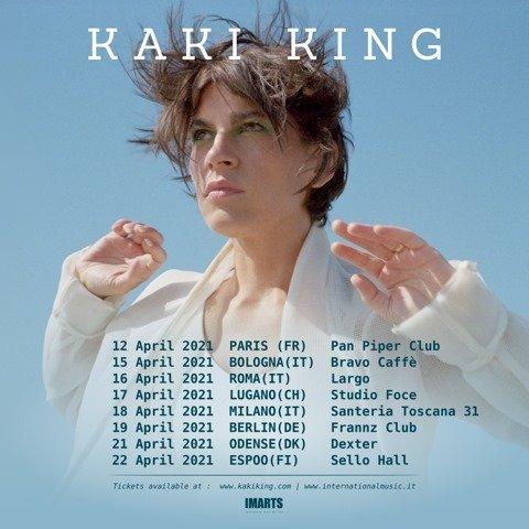 Kaki King live, Largo Venue di Roma