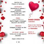 Karaoke di San Valentino al ristorante Sand Creek di Fermo