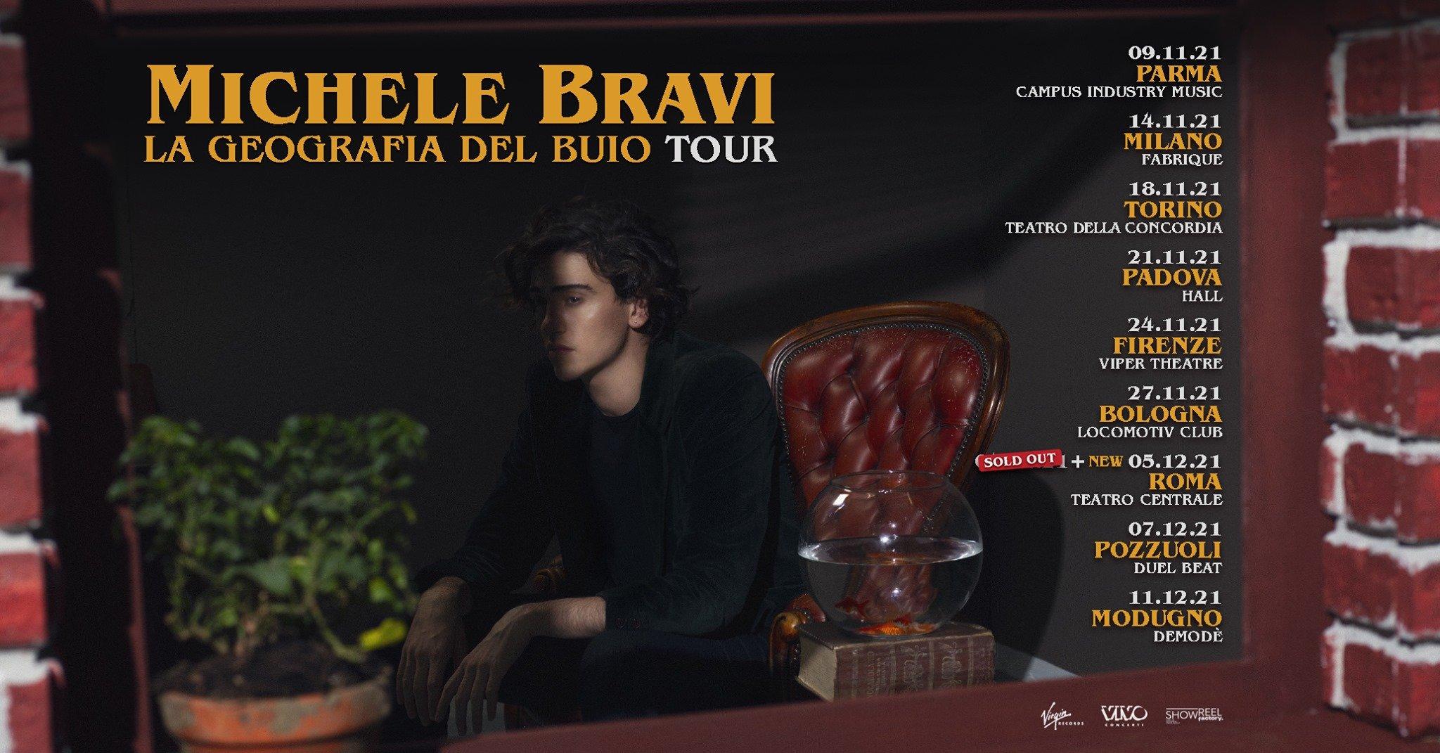 Michele Bravi in concerto, Hall Padova