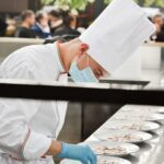 Serra ristorante di Civitanova Marche, il pranzo nel tetto di cristallo