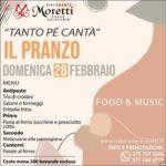 Tanto Pè Cantà, ristorante Moretti San Benedetto Del Tronto