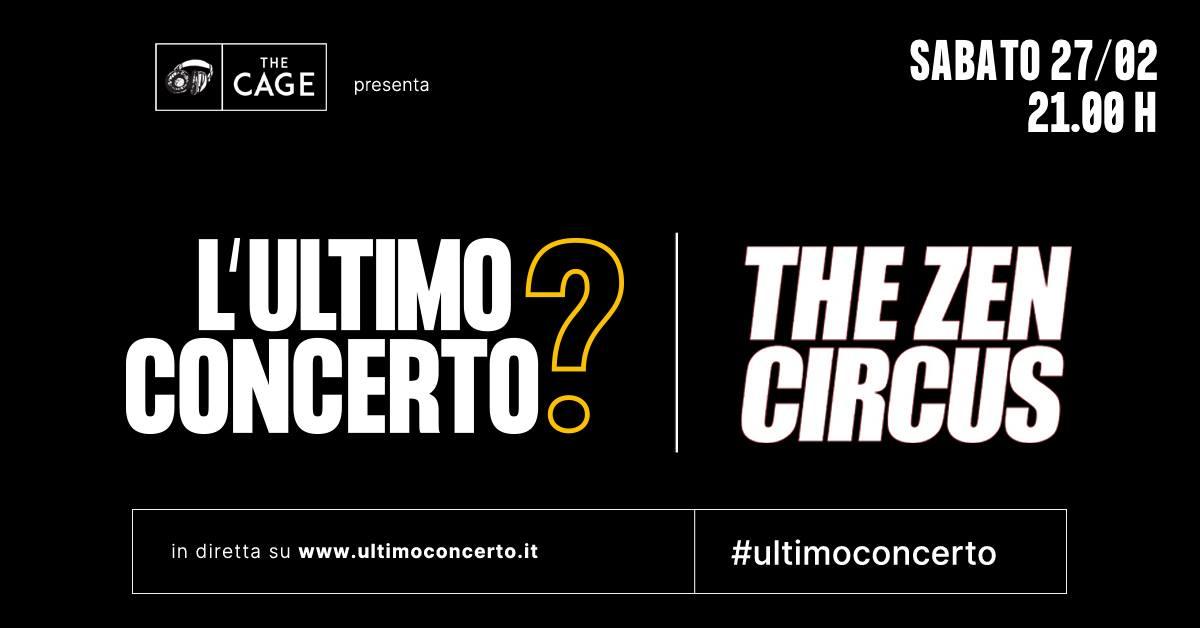 The Zen Circus, L'Ultimo Concerto? The Cage di Livorno