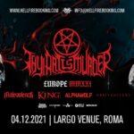 Thy Art Is Murder + guests al Largo Venue di Roma