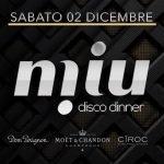 Alex Effe Dj e Conte Max voice al Miu Disco Dinner di Marotta
