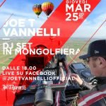Joe T Vannelli in mongolfiera