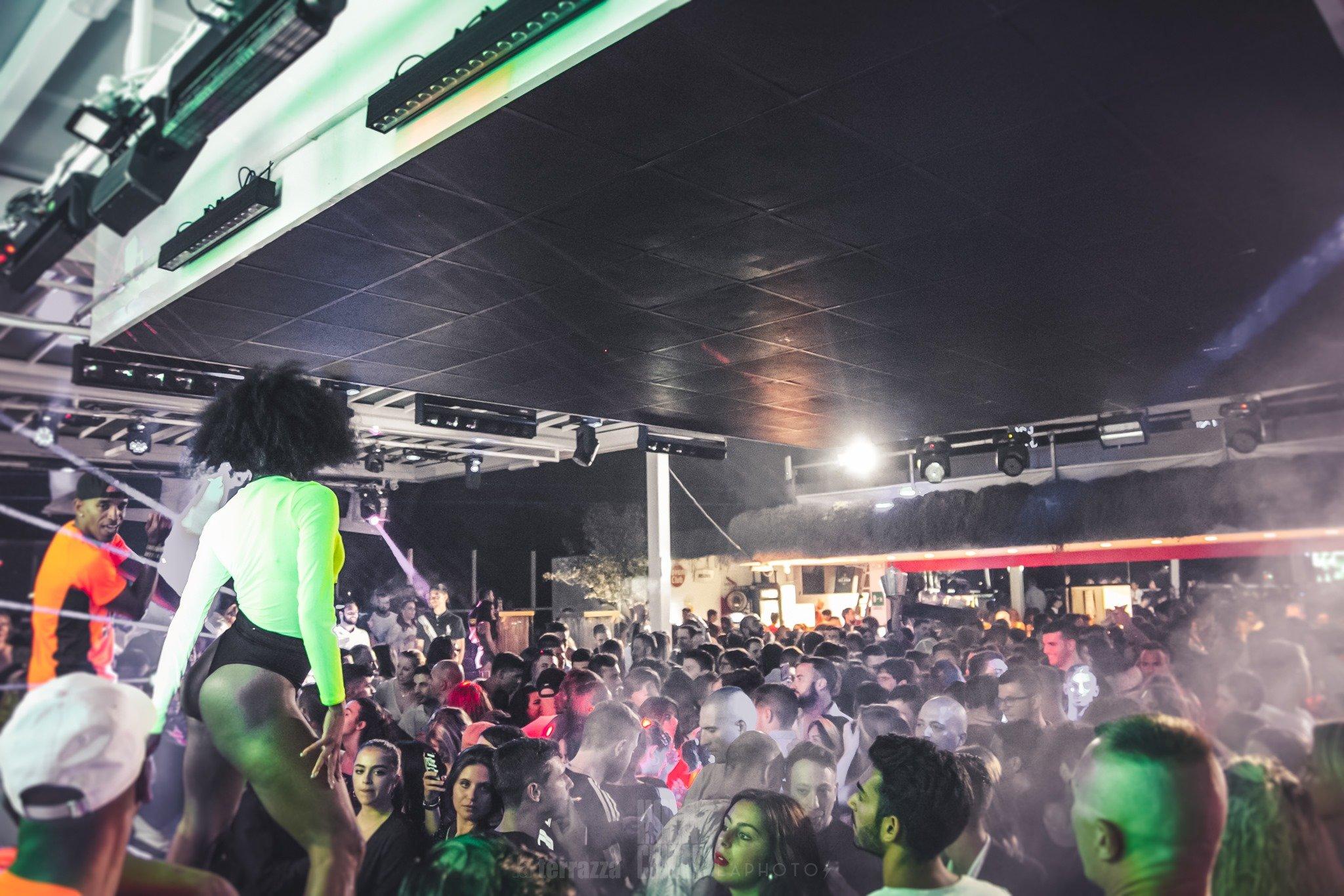 La strabiliante serata house della discoteca La Terrazza di San Benedetto Del Tronto
