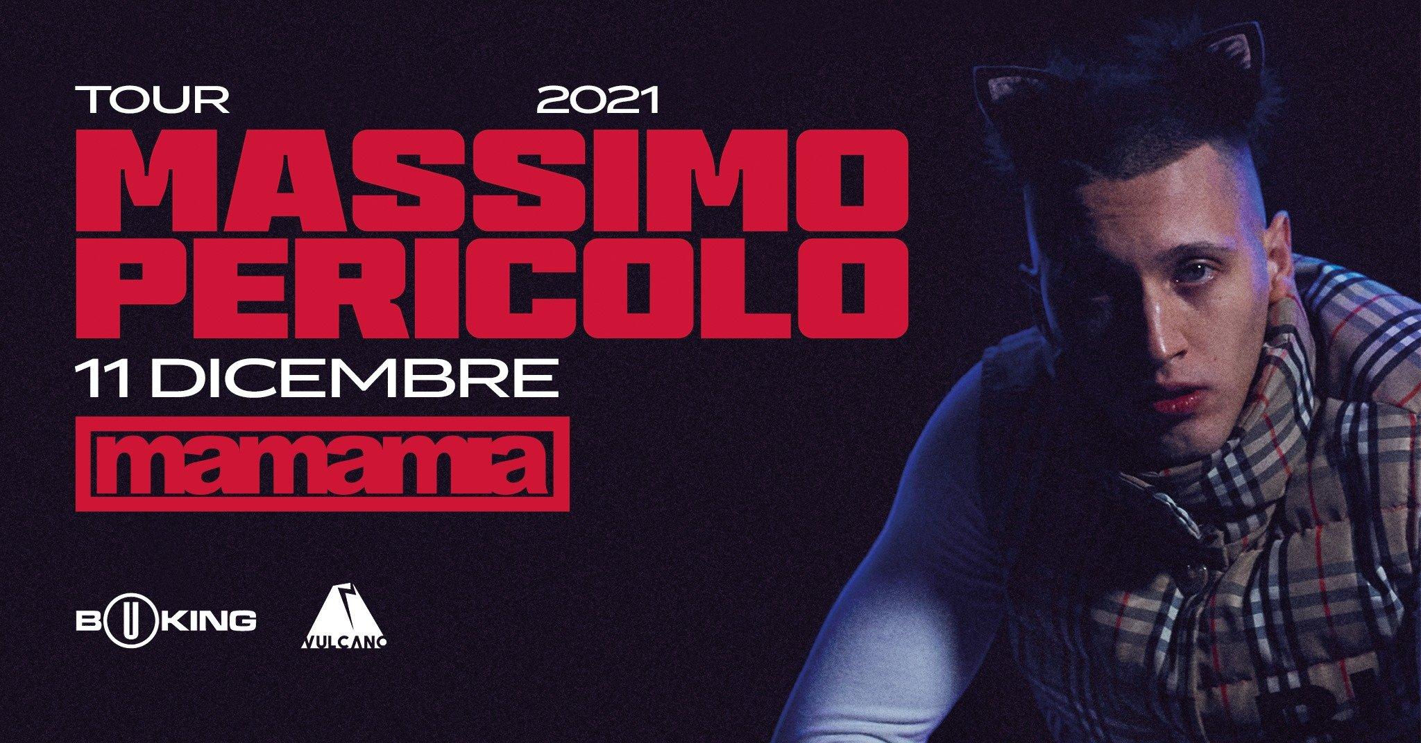 Massimo Pericolo in concerto al Mamamia di Senigallia