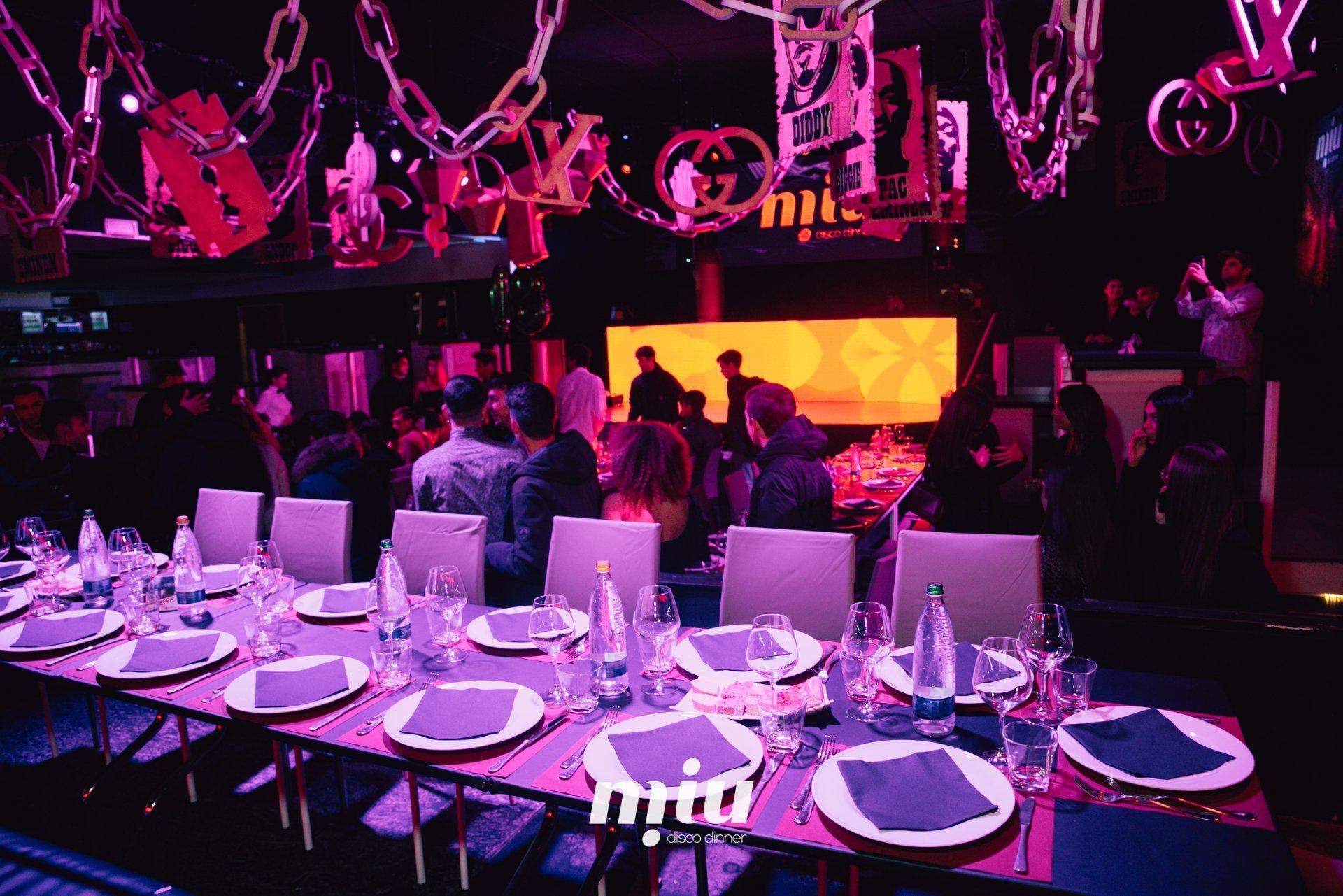 Capodanno 2021 - 2022 al Miu disco dinner di Marotta