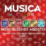 Discoteca Musica Riccione, dj Tommy Vee, Albert Marzinotto ed Andy J