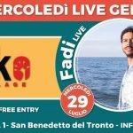 Fadi live al Geko