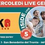 Iside live al Geko