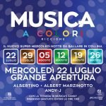 Musica Club Riccione, djs Albertino, Albert Marzinotto e Andy J