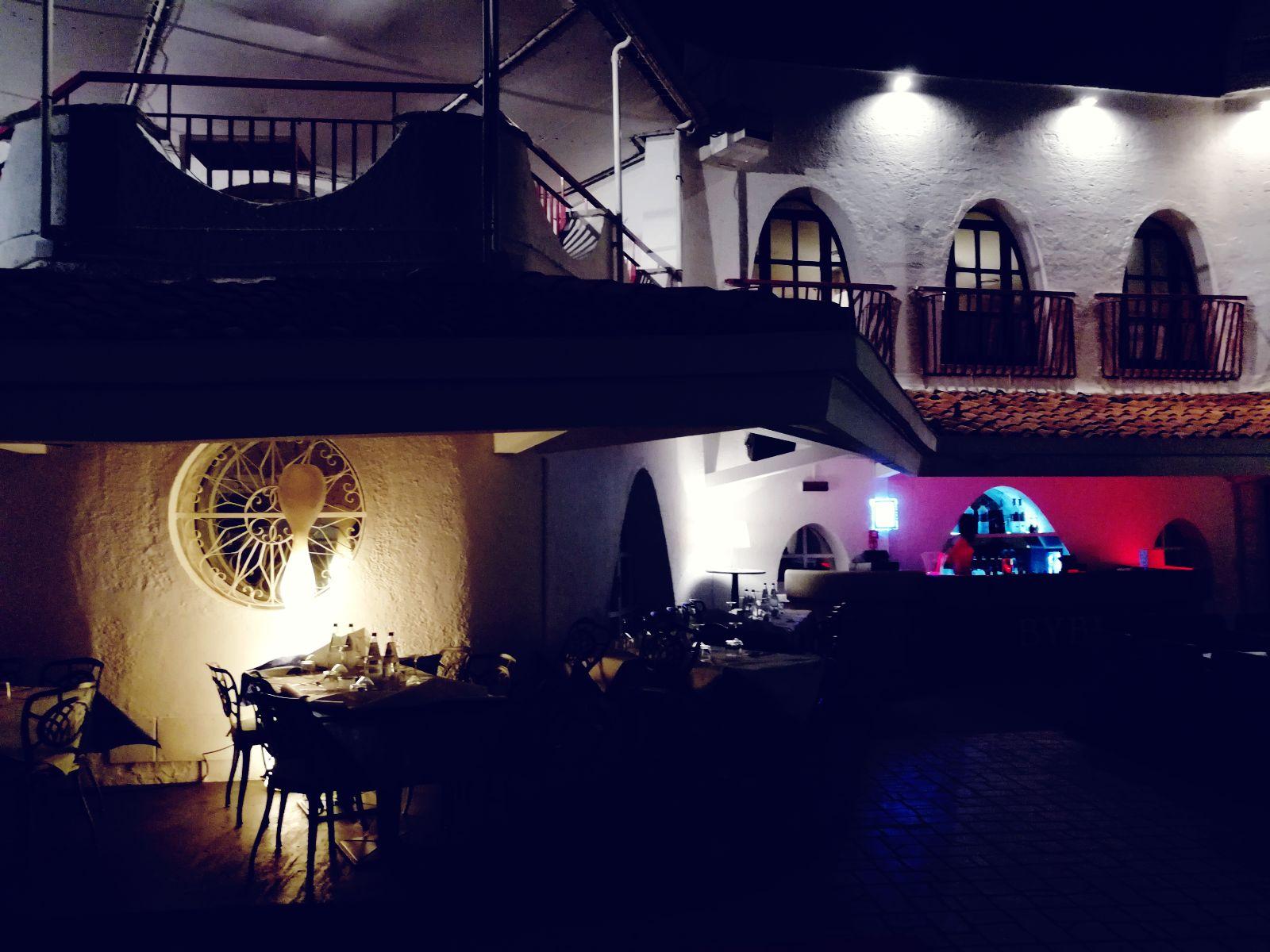 Preludio al Ferragosto al Byblos Club di Riccione