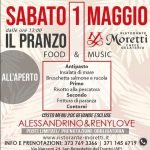 Ristorante Moretti San Benedetto, dj Alessandrino e voce Reny Love