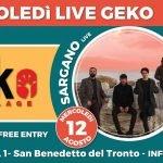 Sargano + Valentini live alla Discoteca Geko di San Benedetto Del Tronto