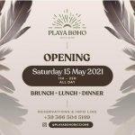 Inaugurazione Playa Boho Riccione