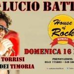 Omaggio a Lucio Battisti all'House of Rock di Rimini