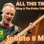 Sting e The Police Tribute Band all'House of Rock di Rimini