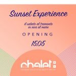 Sunset Experience Opening allo Chalet Del Mar di Fano
