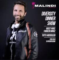 Diversity dinner show al Malindi di Cattolica