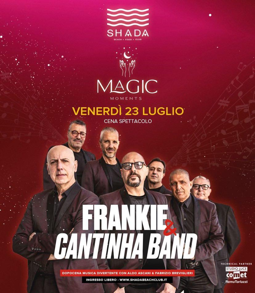 Frankie & Cantinha Band + Nostalgia 90 allo Shada di Civitanova Marche