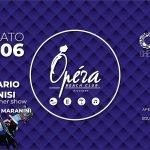 Rosario Rannisi Live Dinner Show all'Operà Beach Club di Riccione