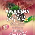 Apericena Latino al ristorante e discoteca Frontemare di Rimini