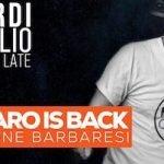 Barbaro is back allo Chalet Mosquito di Porto Potenza Picena