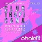 Club Tropicana con Alessandro Pedinelli dj allo Chalet Del Mar di Fano
