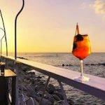 Il tramonto allo Chalet Beach con David Scaloni