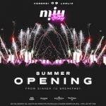 Inaugurazione Estate 2021 al Miu Disco Dinner di Marotta