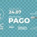 Pago Live Show all'Operà Beach Club di Riccione