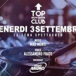 Alessandro Frate e Max Monti al Top Club by Frontemare di Rimini