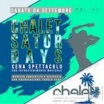 Chalet Del Mar Fano, serata Satur Days